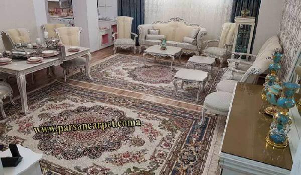 فرش 1200 شانه گل برجسته