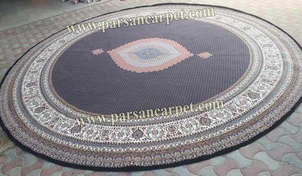 فرش دایره ای بزرگ