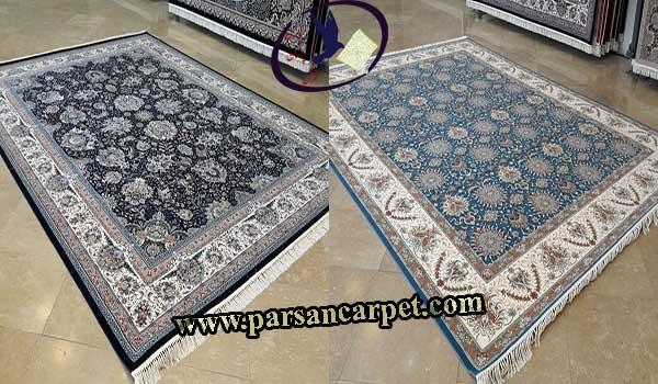 فرش طرح باغ بهشت