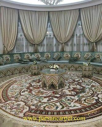 قیمت فرش گرد